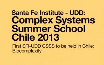 Santa Fe Institute-UDD: Complex Systems Summer School Chile 2013