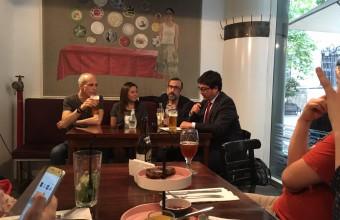 Carlos Rodríguez-Sickert, director del CICS, participa en Café del Futuro