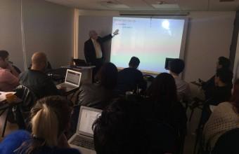 """John Londregan realizó Workshop """"Estimación de ideología y preferencias"""""""