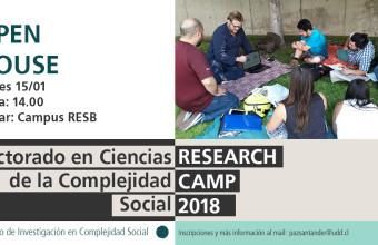 Open House Doctorado en Ciencias de la Complejidad Social