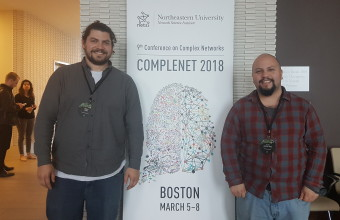 [CICS on tour] DCCS students participated in CompleNet 2018
