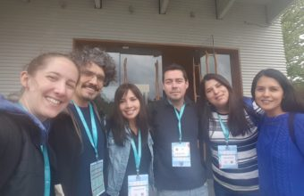 NeuroCICS Team and DCCS students exhibit at the XIV Annual Meeting of the Chilean Society for Neuroscience