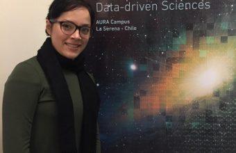 Yessica Herrera, estudiante del DCCS, participa en La Serena School for Data Science en observatorio astronómico