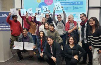 Víctor Márquez, estudiante DCCS, ganó concurso Pitch en la Feria de Ciencia e Innovación UDD 2019