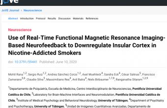 Use of Real-Time Functional Magnetic Resonance Imaging-Based Neurofeedback to Downregulate Insular Cortex in Nicotine-Addicted Smokers