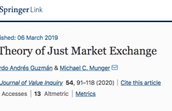 A Theory of Just Market Exchange